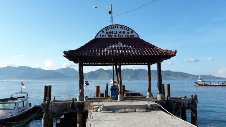 Puerto de Gili Air