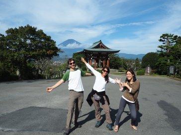 Fuji con Misako
