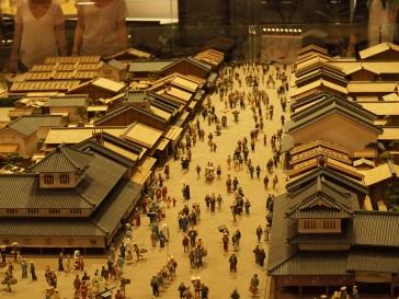 Maqueta de Tokio en la era Edo