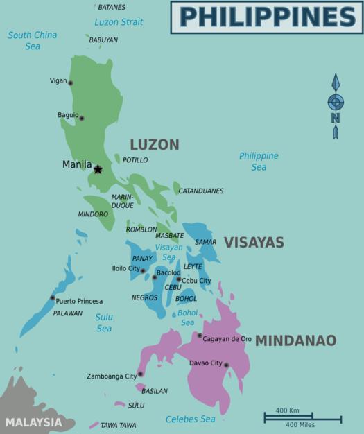 Mapa de Wikitravel