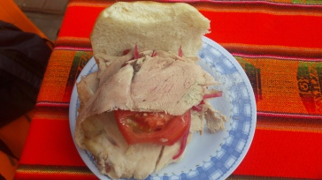 Sandwich de las cholas