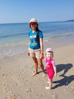 Perdiendo el miedo al mar en Landrezac